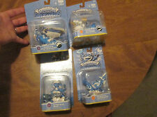 LOT 4 Skylanders SuperChargers POWER BLUE Splat,Gold Rusher + MORE SET COMPLETE