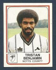 PANINI FOOTBALL 84-#201-NOTTS COUNTY-TRISTAN BENJAMIN