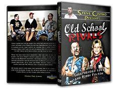 Old School Rivals with Bobby Fulton & Bushwacker Luke DVD, WWE WWF NWA WCW