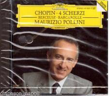 Chopin: 4 Scherzi; Berceuse; Barcarolle / Maurizio Pollini