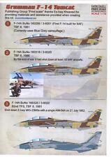 Print Scale Decals 1/72 IRANIAN GRUMMAN F-14 TOMCAT Jet Fighters
