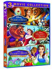 Walt Disney's The Complete Beauty and The Beast Trilogy 1 - 3 Collection New DVD