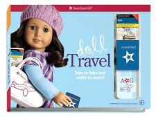 AMERICAN GIRL Doll Travel Set Crafts Stickers Playing Cards Patterns and More