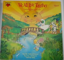 """Disney Record """"We All Live Together"""" Volume 4 -YR-004R- Mint (M)"""