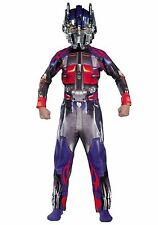 Transformers Optimus Prime Standard Costume Size 10-12 Large New 2007