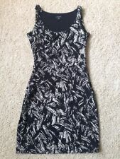 NWOT Ann Taylor Black and White Dress 0P