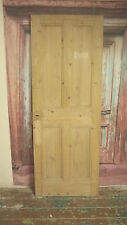 S08 (27 3/4 x 75) Little old vintage reclaimed period pine door nr York
