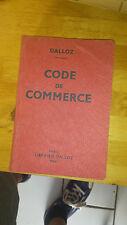 Dalloz - Code de Commerce - Edition 1964