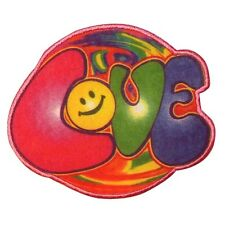 Psychedelic Hippie Love Iron On Badge Applique Patch KN 718