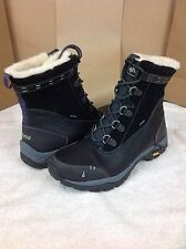 Ahnu Women's Twain Harte Waterproof Insulated Boots Black AF2497 Size 11 US