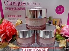 Clinique Moisture Surge Intense Skin Fortifying Hydrator Gel-Creme ◆15mlx3◆ NEW""