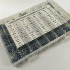 24value 550pcs 16V~50V (0.1uF~2200uF) Electrolytic Capacitor Assortment Box Kit