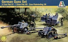 Italeri 1/72 WWII German Guns Set with 8 figures # 7026