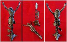 Christ ancien en bronze avec son socle - 19ème ( RARE !!! )