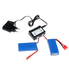 7.4V 2500mAh 25C Lipo Battery+2in1 Charger For Syma X8C X8W X8G X8HG RC Drone