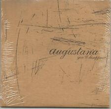 AUGUSTANA You'll Disappear LIMITED 3 TRK SAMPLER PROMO DJ CD Single SEALED 2005