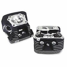 S S Cycle - Super Stock EVO Cylinder Heads - Black 90-1504 49-8279 0930-0008