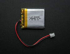Lithium Ion Polymer 3.7v Rechargeable Battery 500mAh Electronic Projects Arduino