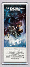 THE EMPIRE STRIKES BACK - movie poster  WIDE FRIDGE MAGNET - STAR WARS CLASSIC!