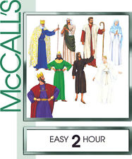 NEW Christmas Easter Passion Play Costumes XS Pattern McCall's 2339 Bible Angel