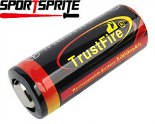 TrustFire 26650 3.7V 5000mAh Li-ion Rechargeable Battery for XTAR Lamp