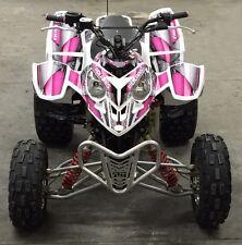 Polaris Predator 500 graphics Quad sticker kit #8800 Hot Pink Design for Girls