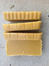 4-1 pound Pure Beeswax Blocks.  (YELLOW).