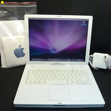 Apple G4 iBook 1.33 GHz 60GB 512MB OSX 10.5 A1055 iLife iWork Office Photoshop