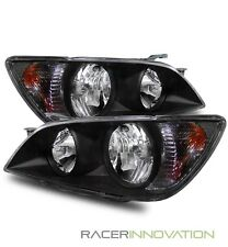 For 01-05 Lexus IS300 JDM Altezza Aftermarket Crystal Headlights Black