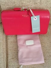 BNWT Radley Pink Dover Street Leather Clutch Bag £99