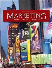 Marketing, William Rudelius, Steven W. Hartley, Roger A. Kerin, Good Book