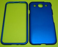2 Piece BLUE Snap On Protective Hard Case Cover for At&t  LG Optimus G Pro E980