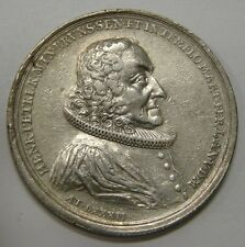 G.S. Brunswick 1748 50th Anniversary of Pastor Heinrich Petri Silver Medal 45mm