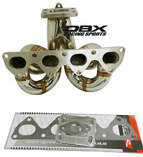 OBX Turbo Header For 90-93 Accord F22A 1992-2001 Prelude SI H23A Non-VTEC