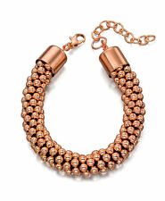 Fiorelli Costume Jewellery Rose Gold Plated Bead Bracelet
