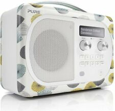 Pure Evoke D4 Mio Portable DAB/FM Radio With Bluetooth Sanderson Edition