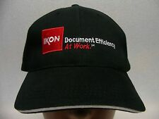 IKON - DOCUMENT EFFICIENCY AT WORK - ADJUSTABLE BALL CAP HAT!