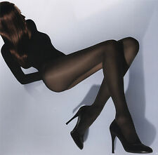 Wolford Velvet De Luxe 50 Tights Color Black Size: Large 10687 -12
