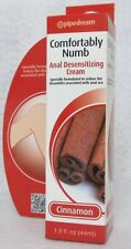 Comfortably Numb Anal Desensitizing Cream Cinnamon 1.5oz Message Sex Anal Play