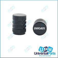 Tyre Wheel Tire Valve Cap Set - Ducati Motorcycle Logo