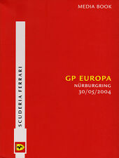 Scuderia Ferrari F1 Media Book - European Grand Prix 2004 Driver Stats & Bios