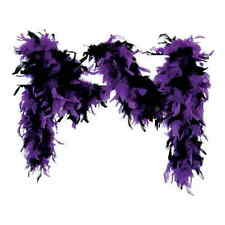 Feather Boa 80g Boas Black Purple Feather Boa Hen Parties Burlesque Gatsby