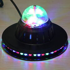Rotating RGB LED Club Pub Disco Party KTV Crystal Magic Ball Stage Effect Light