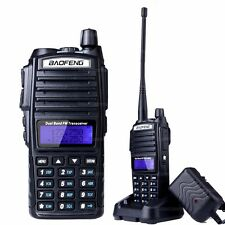BAOFENG UV-82 VHF UHF Dual Band 136-174/400-520MHz 2-PTT 5W Two Way Radio B0533