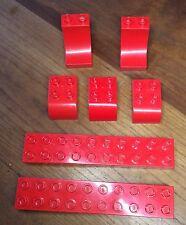 Lego Duplo Bausteine Rot 2x10 20er  usw 8 Stück (5)