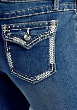 Woman's Miss EARL JEANS Size 24W Bling Me Western Boot TORRID 18W~24W Available