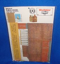 Vintage Made in Germany Builder Plus Paper Train Layout Building OO/Ho Scale NOS