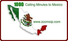 Mexico Phone Card 1000 Minute Calling Card to MEXICO Cheap Calling Card