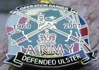 OPERATION BANNER BRITISH ARMY ENAMEL BADGE - ULSTER SAS RIR UDR LOYALIST PARA