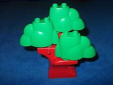 LEGO DUPLO ZOO BAUERNHOF 1 X GROSSER BAUM 1 X BAUMSTAMM + 3 X KRONE WOLKE